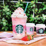 Starbucks Hong Kong Has a Honey Blossom Creme Frappuccino, and It's So Beautiful It Hurts