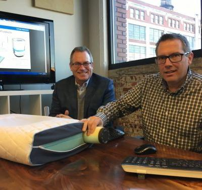 Cleveland company Enduring Wellness designs pillow to cure 'tech neck'