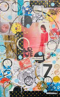 A Collage in My Journal