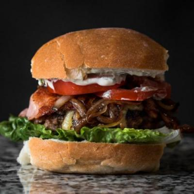 Classic Epic Beef and Bacon Burger