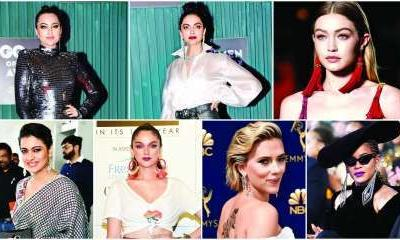 Deepika Padukone to Sonakshi Sinha: Celebs show how shoulder dusters are your party essential