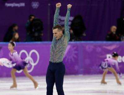 Adam Rippon will work for NBC as a correspondent for remainder of 2018 Winter Olympics
