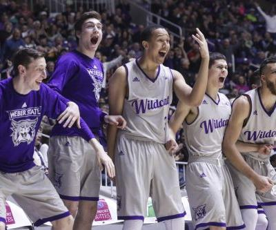 Strickland's late 3 lifts Portland St. over Weber St., 76-75