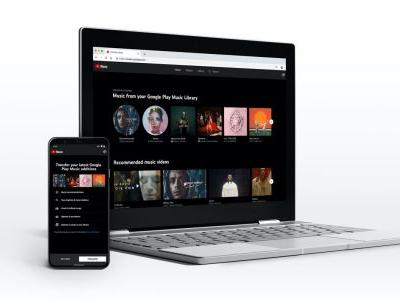 YouTube Music on the web adds lyrics to Now Playing screen