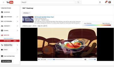YouTube Debuts Viewing Heatmaps For 360-Degree & VR Videos