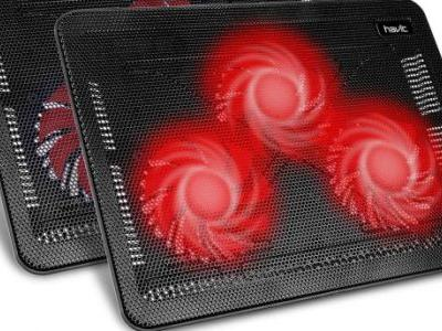 Protect your computer and furniture with a lightning deal on laptop cooling pads