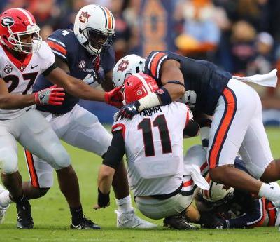 Georgia gets knocked silly by Auburn and now must respond