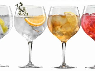 These Crystal Gin & Tonic Glasses Are The Authentic Way To Drink A G&T
