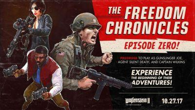 Wolfenstein 2: The New Colossus season pass includes 3 new characters in 3 different story episodes