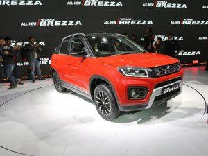 2020 Maruti Suzuki Vitara Brezza BS6 Petrol Launched In India Engine Features Variants And Specifications