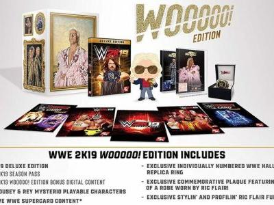 WWE 2K19 'Wooooo!' Collector's Edition goes up for preorder