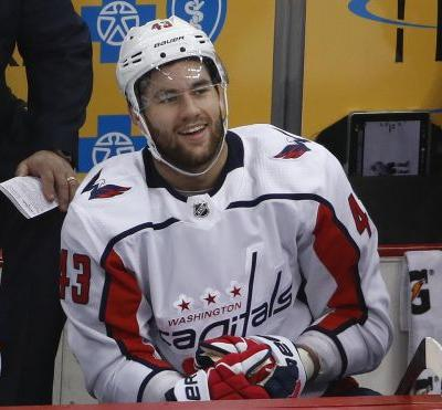 Capitals forward Tom Wilson suspended 20 games for blindside hit