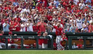 Pujols saluted after HR for Angels vs hometown Cards in loss