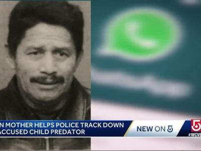 Mother helps track down accused child predator