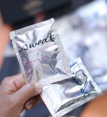 Product Shout-Out: Sweat Cosmetics Skin-Balancing Cleansing Towelettes