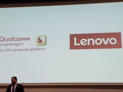 Lenovo to Launch a Qualcomm Snapdragon 8cx Laptop with 5G