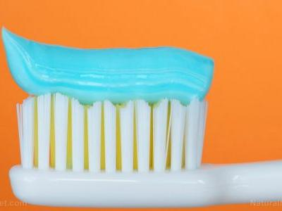 Do YOU brush with hand sanitizer? Recently banned in hand-washing products, the chemical is still found in toothpaste
