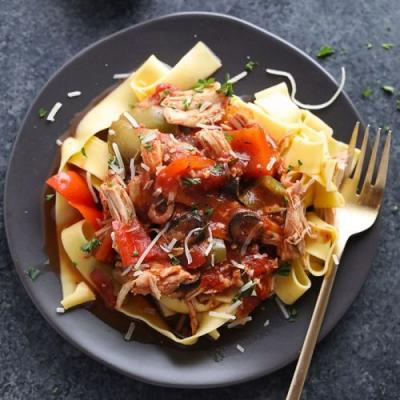Chicken Cacciatore Slow Cooker Recipe