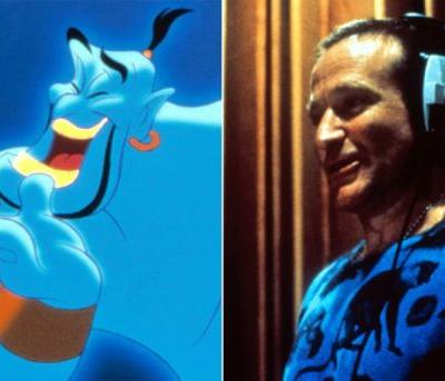 This Never-Before-Seen Clip of Robin Williams and the Aladdin Cast Will Make You Emotional