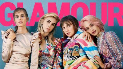 'Glamour' Taps 'Girls' Cast to Cover Entirely Female-Produced February Issue