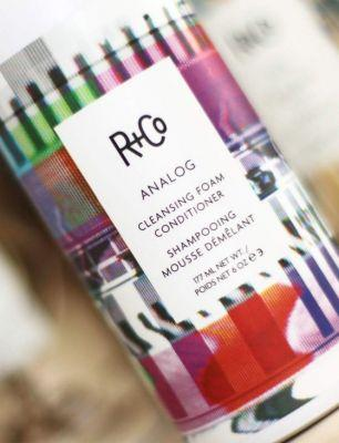 R+Co Analog Conditioning Cleansing Foam Is Airy and Epic