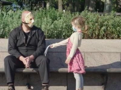 Jason from 'Friday the 13th' Gets Introspective in Coronavirus PSA: 'Wearing a Mask Can be Scary'