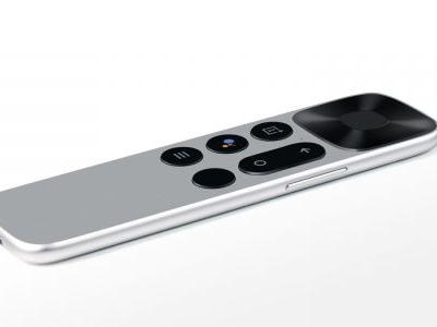 OnePlus TV remote revealed with Google Assistant key, USB-C, and volume rocker