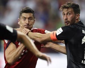 Kovac's Bayern routs Frankfurt 5-0 in German curtain raiser