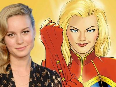 Captain Marvel: First Look at Brie Larson on Set