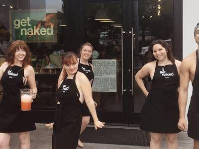 Lush wants you to 'Get Naked' for the planet