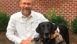 """Army Veteran """"Gets His Life Back,"""" Thanks To His Service Dog"""