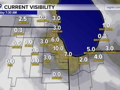 Dense Fog will lift by mid-morning