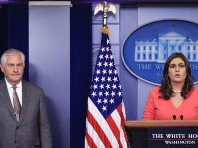 White House briefing twist: Give thanks, then ask questions
