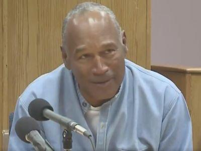OJ Simpson jokes on hot mic with attorney about story that said Trump gets 2 scoops of ice cream at dinner