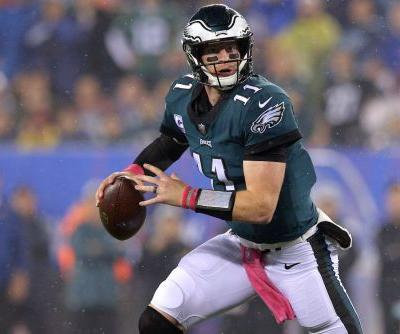 Philadelphia Eagles rout New York Giants, but lose key players to injury