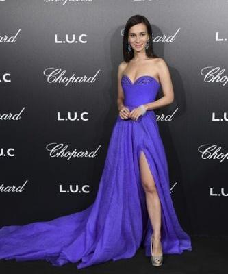 The fabulous actress Celina Jade attends the Chopard