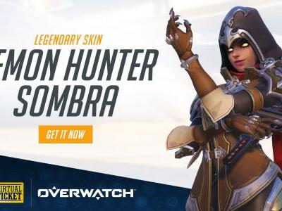 Blizzard whipped up a Demon Hunter Sombra skin for BlizzCon