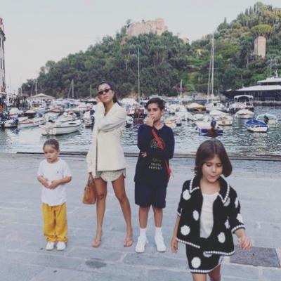Excuse Us While We Sob Over These New Photos of Kourtney Kardashian's Kids: 'Once Upon a Time in Portofino'