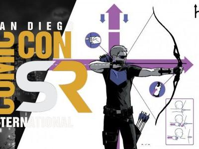 Hawkeye: Jeremy Renner Shares Series Intro at SDCC   ScreenRant