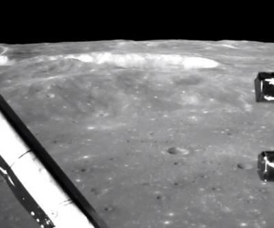 Watch a Chinese probe land on the far side of the Moon
