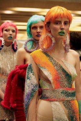 Tory Punks, tampons and muscle men: CSM's new designers