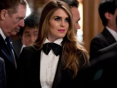 Russian operatives reportedly sent introductory emails to Hope Hicks