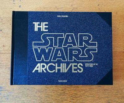 The Star Wars Archives is a monster behind-the-scenes book