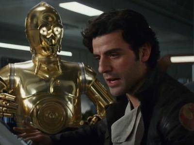 That Time C-3PO Stole Oscar Isaac's Thunder Wrapping Star Wars Episode IX