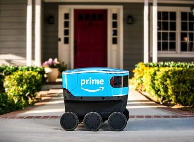 Amazon and Postmates' delivery robots heading to more sidewalks in the U.S