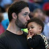 Alexis Ohanian Is Making the Sweetest Effort to Learn How to Do His Daughter's Hair