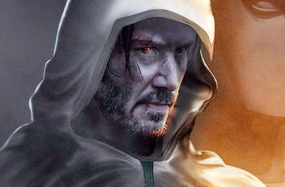 Keanu Reeves Is Moon Knight as Imagined by BossLogicMarvel