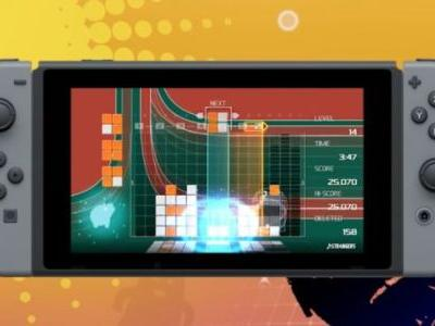 Lumines Remastered Coming to Switch