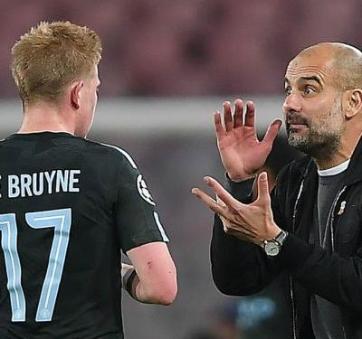 De Bruyne so sad at fresh injury blow, says Guardiola