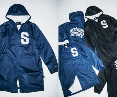 Stüssy Sport & Champion Drops Its Fourth Fall/Winter 2017 Release